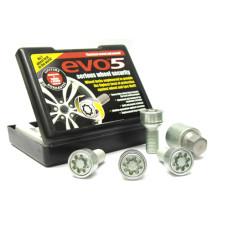 M14 x 1.5 x 27 mm HEX17 Sphere R13 AUDI, VW Wheel locking bolts EVO5