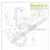 M12x1.5x37 HEX 21mm Flat Diska uzgrieznis (Toyota ES, GS, IS, LS, RX, mitsubishi  toyota passenger cars)