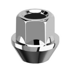 M12x1.25x23 HEX 17 mm Konuss Atvērts Diska uzgrieznis