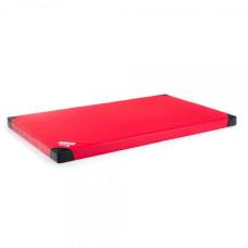 Pretslīdes gimnastikas paklājs, mats RING Anskida RED T60 200 x 120 x 10 cm