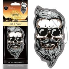 AROMA gaisa atsvaidzinātājs MUERTOS Oud&Pepper Skull
