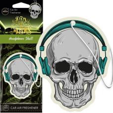 AROMA gaisa atsvaidzinātājs MUERTOS Headphones Skull