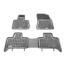 Grīdas paklāji (gumija, 3gab., krāsa melns) BMW X5 (E53) 05.00-12.06