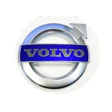 125mm Hromēts Aplis Volvo PRIEKŠĒJAS RESTES LOGO, C30, C70, S40, S60, S80, V40, V50, V60, V70, XC70, XC90