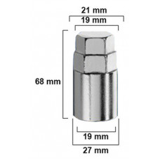 Adapteris 21mm/19mm