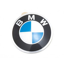 Stūres emblēma BMW 45 mm uzlīme (OEM 36131181082)