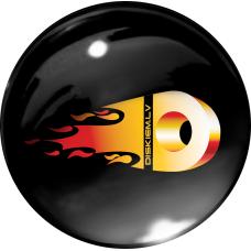 FIRE DISKIEM.LV 3D uzlīme