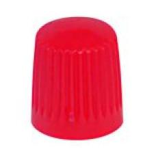 Ventīļmicīte plastmasas (sarkana)