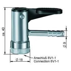 Riepu pumpēšanas nipelis8 x 20 mm