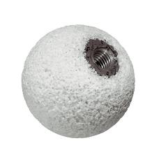 Kaļķakmens lodīte gumijai Ø 60mm, kāts 6mm