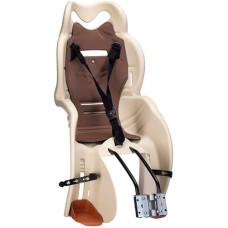Bērnu velo sēdeklis HTP Italy Sanbas T-rāmis beige-brown